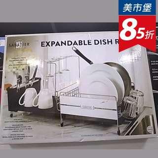 【美市堡】Sabatier 可延伸式餐具瀝水架 廚房 餐具架