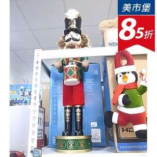 【美市堡】32吋 木製胡桃鉗兵