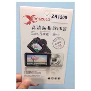 全新 Casio Zr1200 螢幕貼 螢幕保護貼