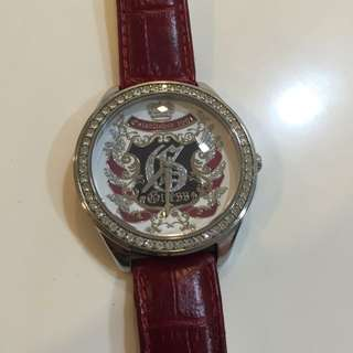 Preloved Guess Red Watch