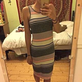 Stripy Dress Size S