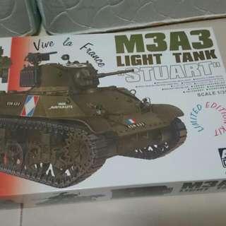 Afv Club 1/35 Limited Edition M3A3 Stuart With T16 Tracks