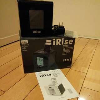 [九成新] iRise iPod專用音響,也可聽廣播或外接音源線輸出當喇叭使用