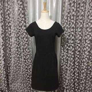 Preloved COTTON ON Black Dress