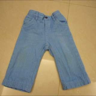 2手8.5成新Esprit鋪棉淺藍色牛仔褲