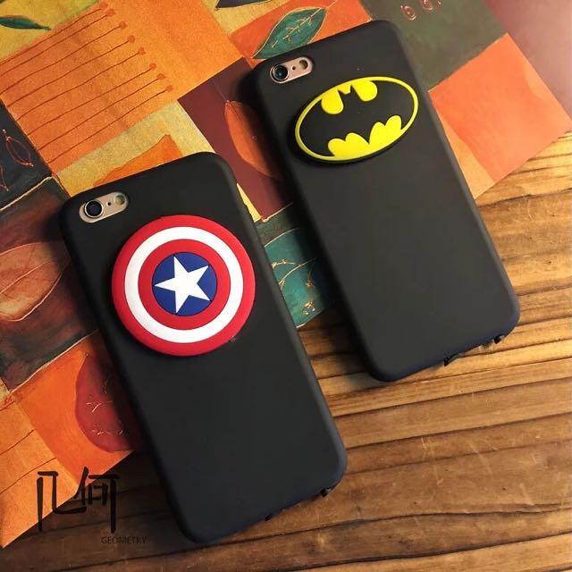 [預購]美國隊長&蝙蝠俠軟殼