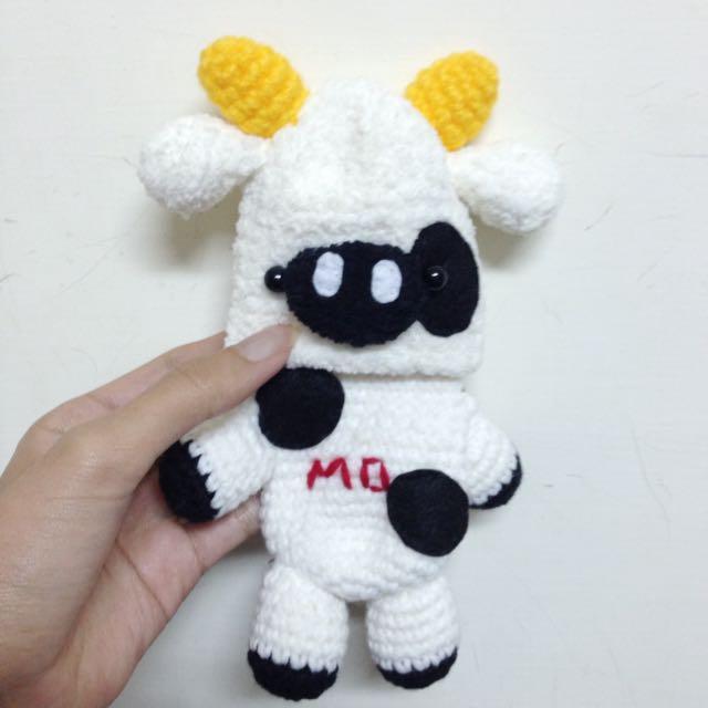 (全新)多功能乳牛🐄編織套