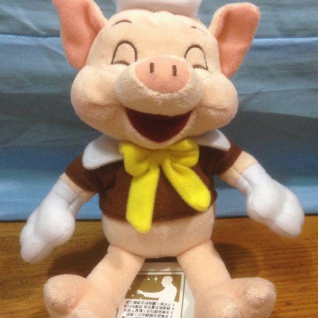 小豬 玩偶 手搖鈴