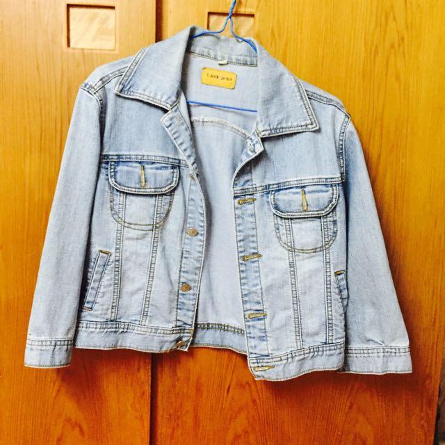🔥降價🔥淺藍 牛仔外套 #女裝五折出清