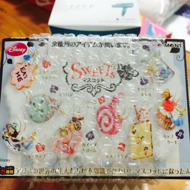 絕版店購入 絕版 Re-Ment 愛麗絲甜點系列 食玩