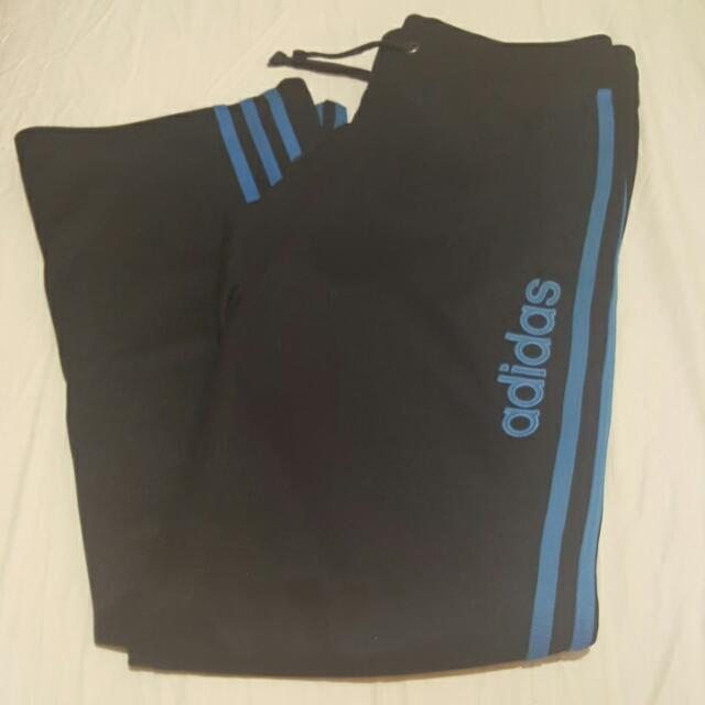 Adidas Womans Trackies Track Pants Size 8