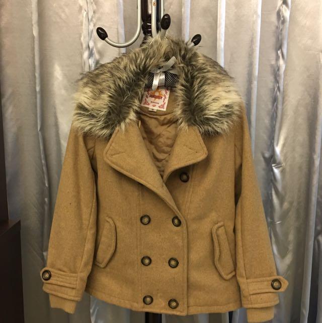 💥BOBSON毛質外套