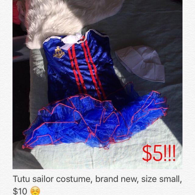 Brand New Sailor Tutu Costume 😍