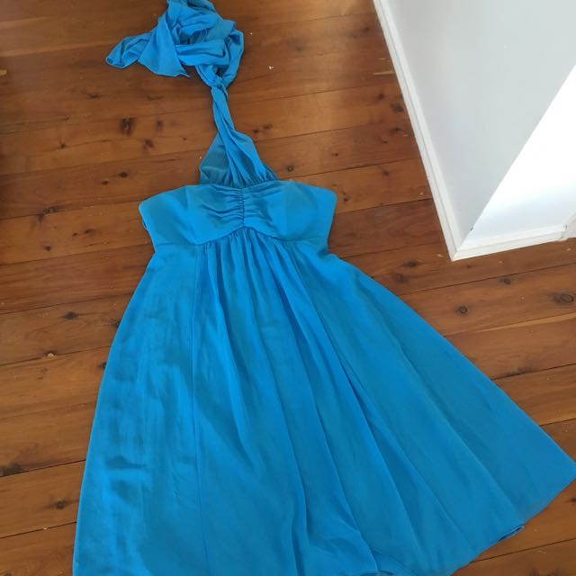 Cocktail Blue Formal Dress