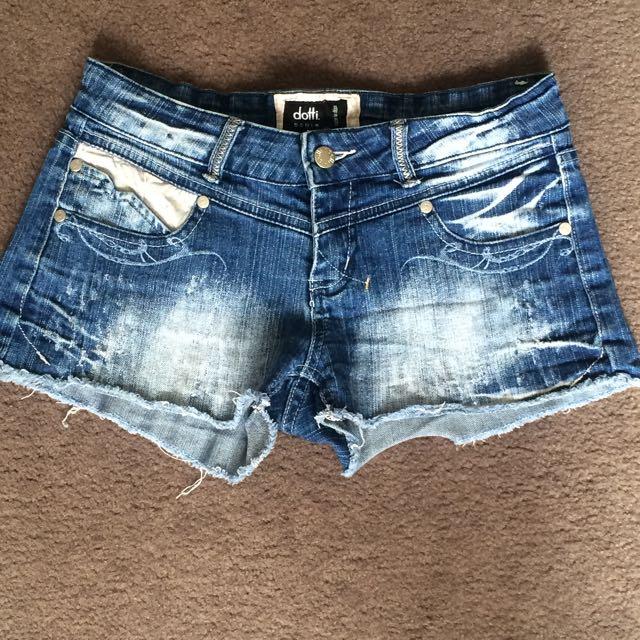 Dotti denim Shorts - Size 10