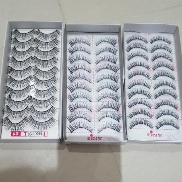 Eyelashes 10pk