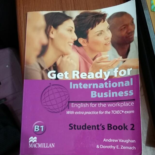 (保留)get ready for international business