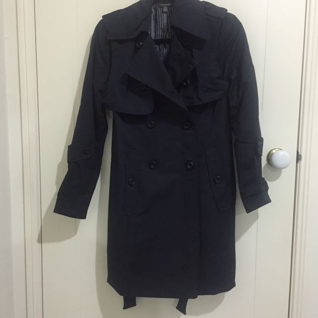 Ginger & Smart Black Trench Coat