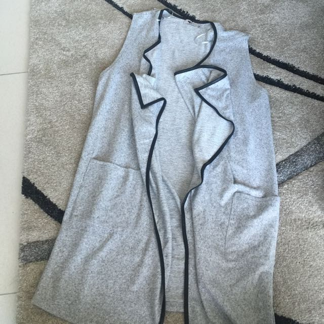 Grey Vest Size S