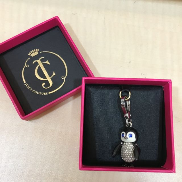 JUICY COUTURE 全新企鵝吊飾