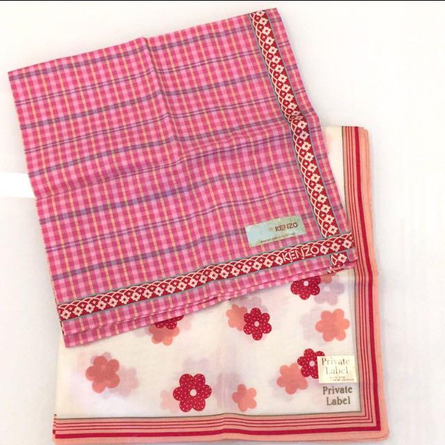 Kenzo日本製手帕