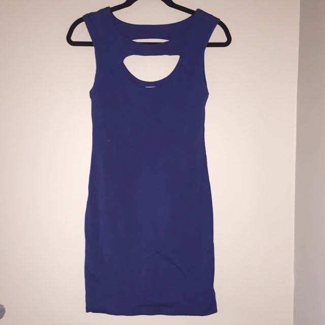 Kookai Royal Blue Dress