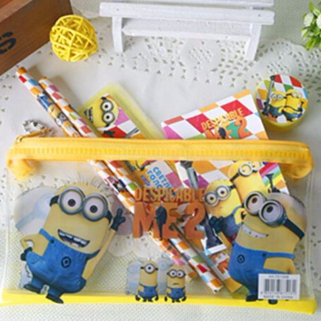 Minions pencil gift pack
