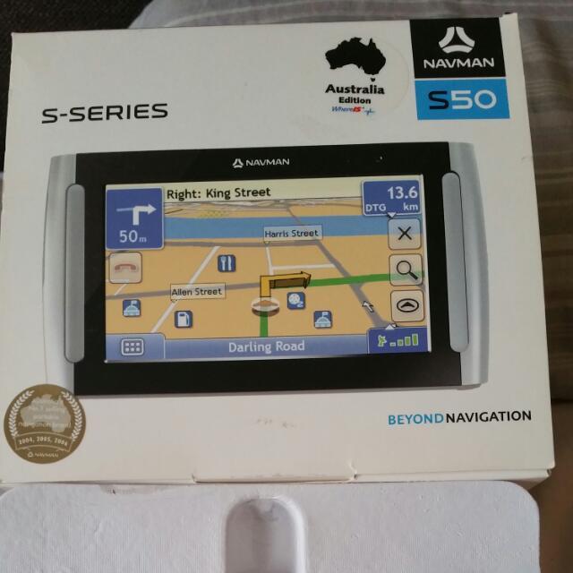 Navman GPS S50