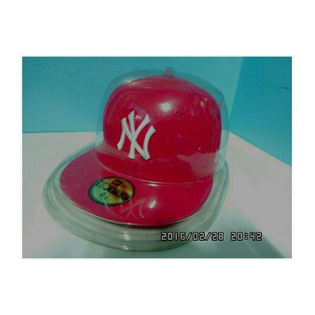 🌸NY棒球帽🌸桃紅色