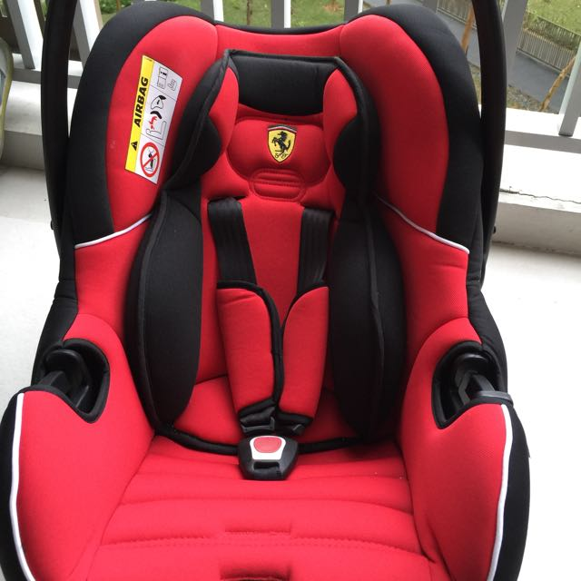 Original Ferrari Car Seat Baby Carrier Babies Kids On Carousell