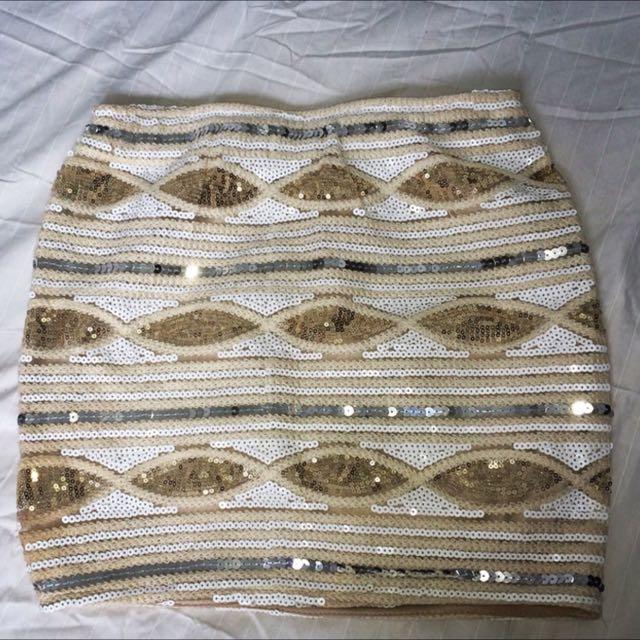 Sequin Skirt Size 6