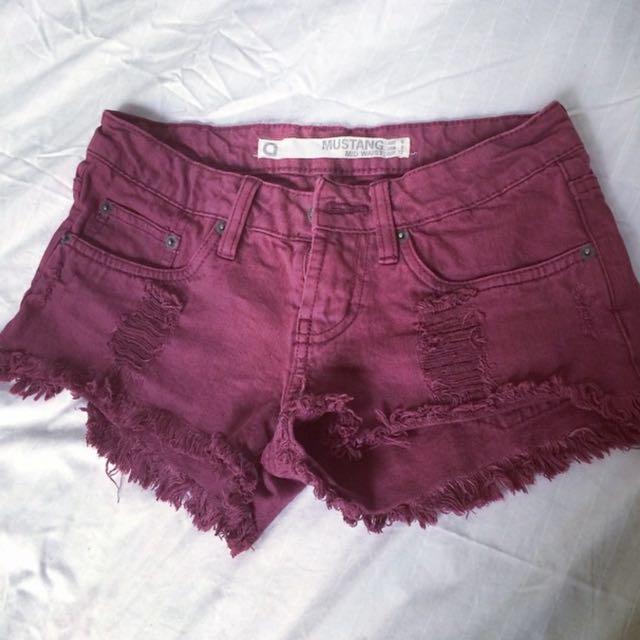 Short Shorts Size 6