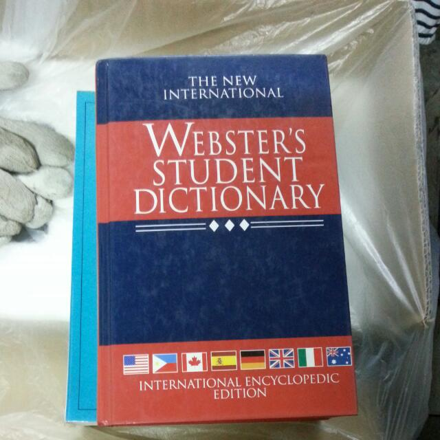 Webster's Student Dictionary英英辭典