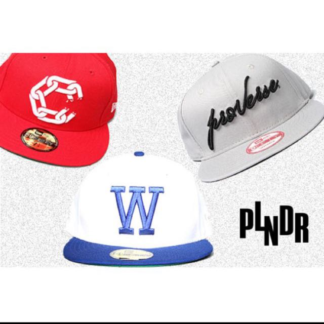 WeSC FITTED CAP FROM PLNDR