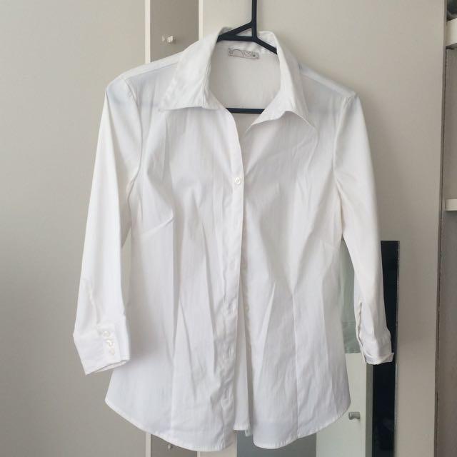 White Work Shirt - Size 10