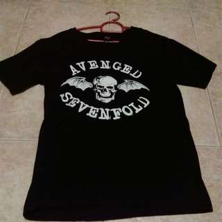 A7X Avenged Sevenfold Band t-shirt