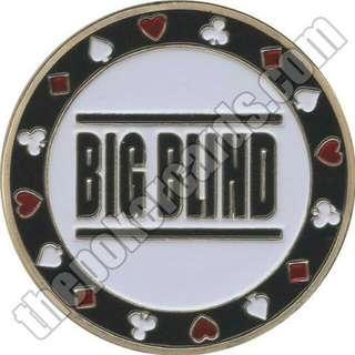 Texas Holdem Poker Big Blind Small Blind Poker Coin Token / Poker Card Guard