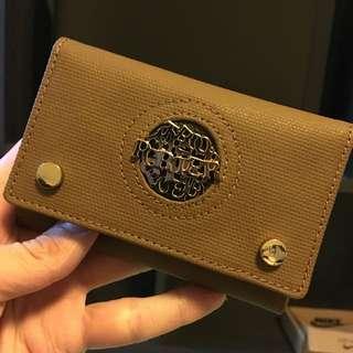 Porter 鑰匙皮包  棕色