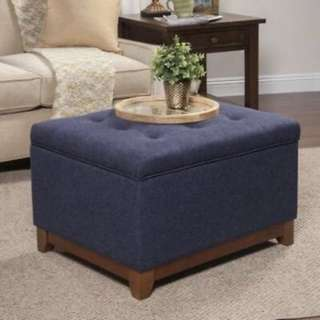 Brand New Blue Storage Coffee Table