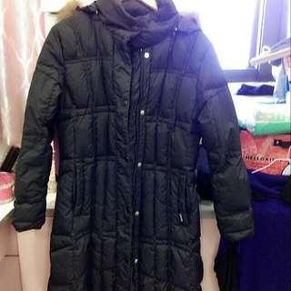長版保暖外套