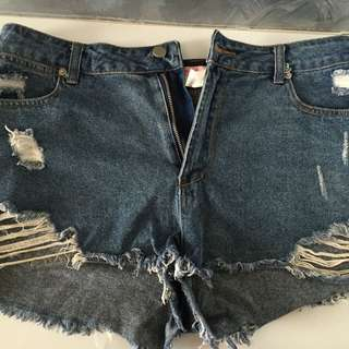 "Brand: ""Supre"" Denim Shorts"