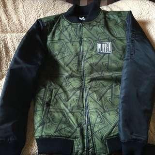 再降價 厚款Ma-1空軍外套(軍綠)