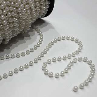Pearl Strings - White 6MM