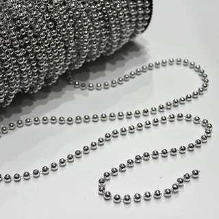 Pearl Strings - Silver 5MM