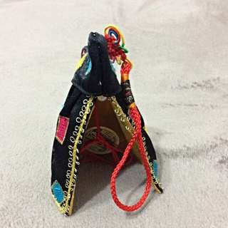 神斧 創意精品刺繡小神衣 台灣文化 保平安 吊飾