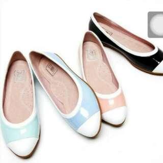 大尺碼女鞋26 平底包鞋