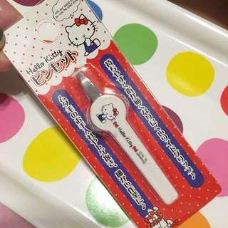 日本限定 Hello Kitty 美容小鑷子 夾子