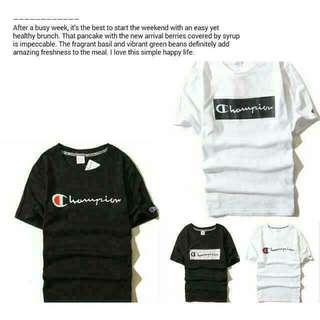 ®Champion  T-shirt  潮T 短T 情侶裝 短袖