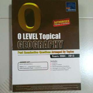 Geog Tys For O Levels