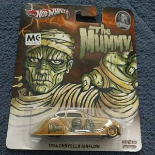 Hot Wheels The Mummy (Home Of The Original Monsters Series)